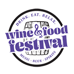 Drink. Eat. Relax. Wine & Food Festival | NOVA Logo